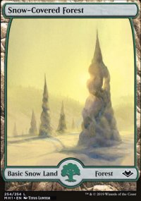 Snow-Covered Forest - Modern Horizons