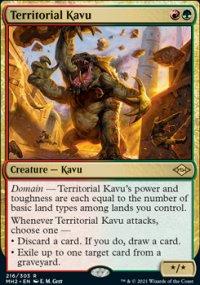 Territorial Kavu -