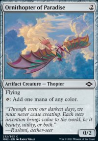 Ornithopter of Paradise -
