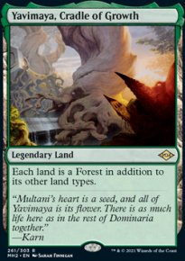 Yavimaya, Cradle of Growth 1 - Modern Horizons II
