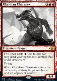 Obsidian Charmaw -