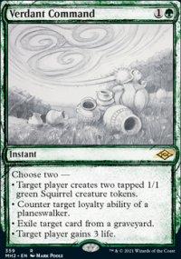 Verdant Command 2 - Modern Horizons II