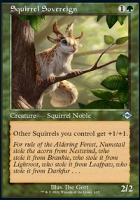 Squirrel Sovereign 2 - Modern Horizons II