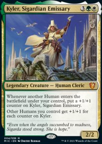 Kyler, Sigardian Emissary -