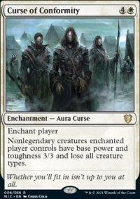 Curse of Conformity -