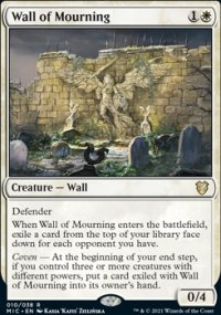 Wall of Mourning -