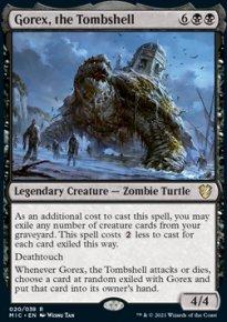 Gorex, the Tombshell 1 - Innistrad Midnight Hunt Commander Decks