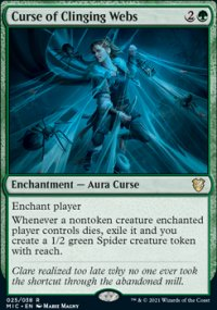 Curse of Clinging Webs -