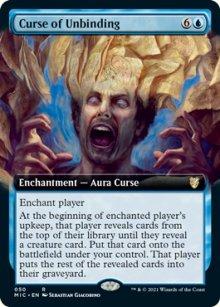 Curse of Unbinding -