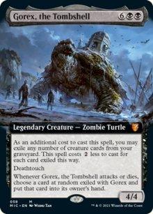 Gorex, the Tombshell -