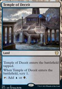 Temple of Deceit -