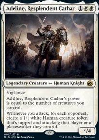 Adeline, Resplendent Cathar 1 - Innistrad: Midnight Hunt