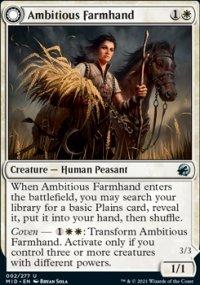 Ambitious Farmhand - Innistrad: Midnight Hunt