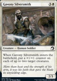 Gavony Silversmith - Innistrad: Midnight Hunt