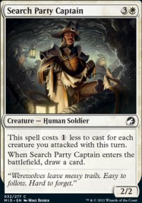 Search Party Captain - Innistrad: Midnight Hunt