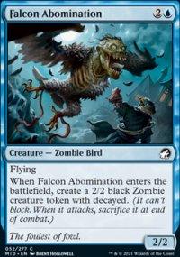 Falcon Abomination - Innistrad: Midnight Hunt