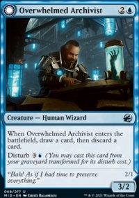 Overwhelmed Archivist -