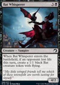 Bat Whisperer - Innistrad: Midnight Hunt