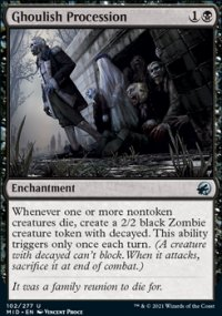 Ghoulish Procession -