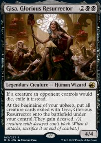 Gisa, Glorious Resurrector 1 - Innistrad: Midnight Hunt