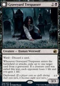 Graveyard Trespasser 1 - Innistrad: Midnight Hunt