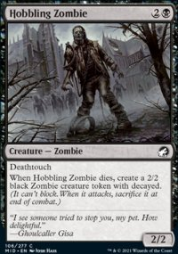 Hobbling Zombie -