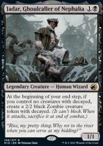Jadar, Ghoulcaller of Nephalia 1 - Innistrad: Midnight Hunt