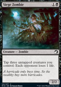 Siege Zombie -