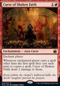 Curse of Shaken Faith 1 - Innistrad: Midnight Hunt