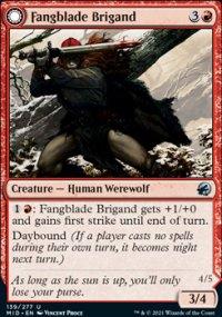 Fangblade Brigand 1 - Innistrad: Midnight Hunt