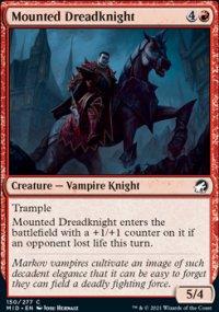 Mounted Dreadknight -