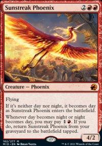 Sunstreak Phoenix 1 - Innistrad: Midnight Hunt