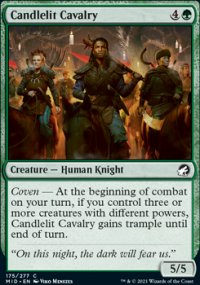 Candlelit Cavalry - Innistrad: Midnight Hunt