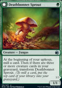 Deathbonnet Sprout - Innistrad: Midnight Hunt