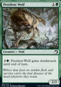 Pestilent Wolf - Innistrad: Midnight Hunt