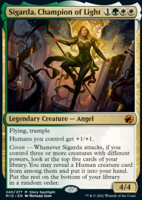 Sigarda, Champion of Light 1 - Innistrad: Midnight Hunt