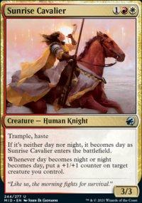 Sunrise Cavalier -