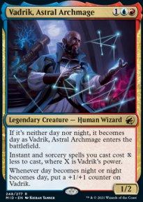 Vadrik, Astral Archmage 1 - Innistrad: Midnight Hunt