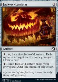 Jack-o'-Lantern -