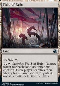 Field of Ruin - Innistrad: Midnight Hunt