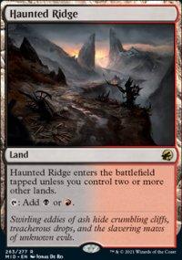 Haunted Ridge 1 - Innistrad: Midnight Hunt