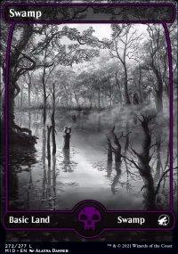 Swamp 1 - Innistrad: Midnight Hunt