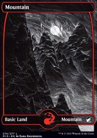 Mountain 1 - Innistrad: Midnight Hunt