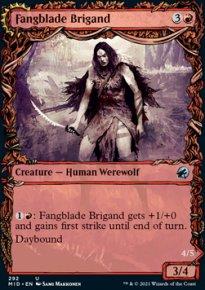 Fangblade Brigand 2 - Innistrad: Midnight Hunt
