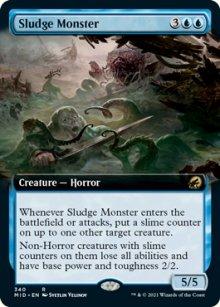 Sludge Monster -