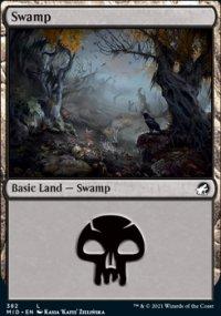 Swamp 3 - Innistrad: Midnight Hunt