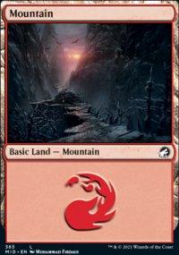 Mountain 3 - Innistrad: Midnight Hunt
