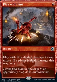 Play with Fire -