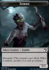 Zombie - Innistrad: Midnight Hunt