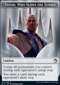 Emblem Teferi, Who Slows the Sunset -